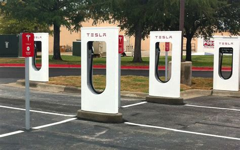 Tesla Charging Stations Tesla Opens Charging Station In San Marcos