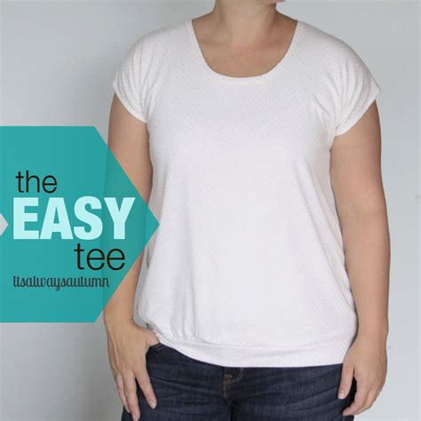 easy t shirt pattern free the easy tee the anthropology lace front version free