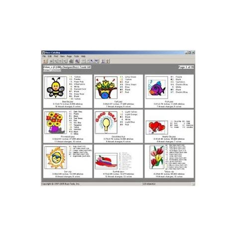 embroidery design management software buzz tools 194 174 entry level embroidery design management system
