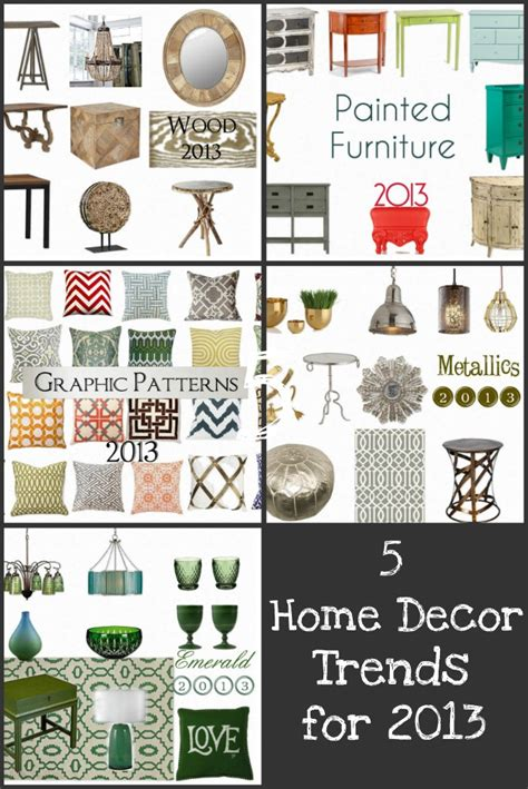 5 home decor trends for 2013 homes
