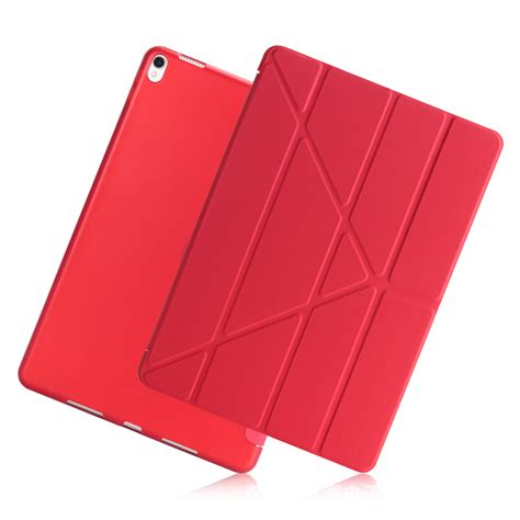 Pro 10 5 Smart V Transformer Cover Casing מוצר for pro 10 5 a1701 a1709 transformers slim pu leather silicone soft back smart