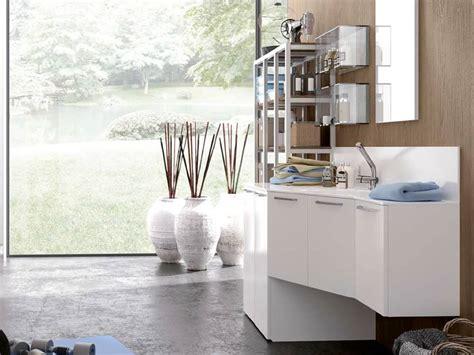 mobili bagno porta lavatrice idee arredo salvaspazio