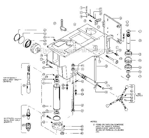 Powermatic 1150hd Parts List And Diagram
