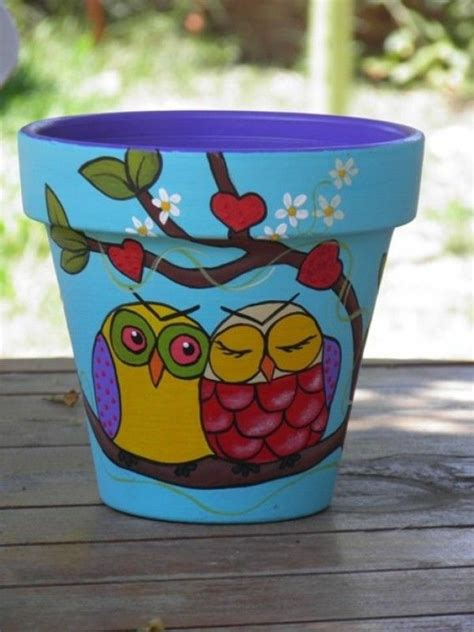 flower pots designs 1000 ideas about painted flower pots on pinterest clay