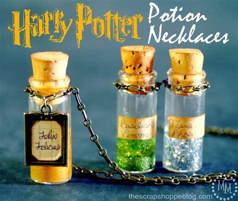 Cricut Cartridge Home Decor harry potter potion necklaces the scrap shoppe