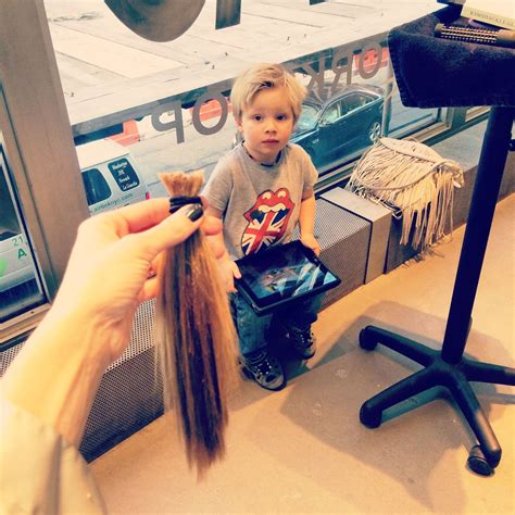 blonde ponytail cut off sahag haircut hairstylegalleries com