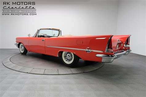 1957 Chrysler 300c For Sale by 133285 1957 Chrysler 300c Rk Motors Classic And
