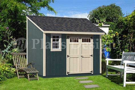 backyard deluxe storage shed plans blueprint