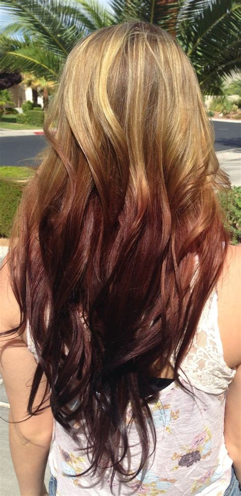 hair color on bottom dirtbin designs reverse ombre hair color