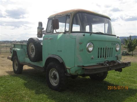 willys jeep truck green willys fc 170 extended cab 1962 green for sale