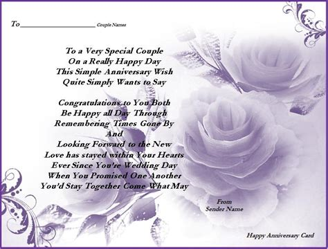 anniversary cards templates happy anniversary card page word excel pdf