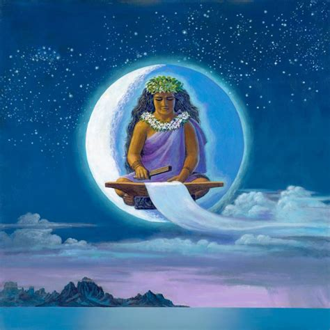 along with the gods hawaii herb kane painting image catalog gods goddesses and