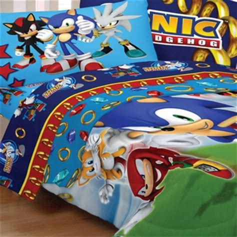 sonic the hedgehog twin sheet set sonic speed sheet sets