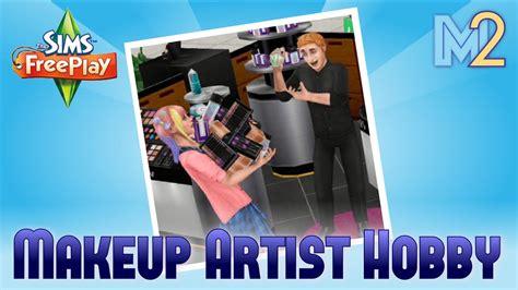 sims freeplay makeup artist hobby tutorial