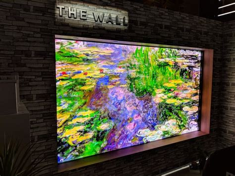 samsung wall tv samsung quot the wall quot micro led modular 146 inch tv photos business insider