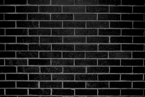 black brick wall texture picture free photograph