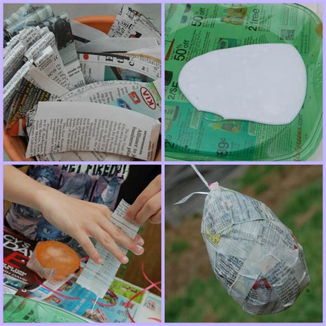 How Do You Make Paper Mache Paste - paper m 226 ch 233 easter eggs diy craft