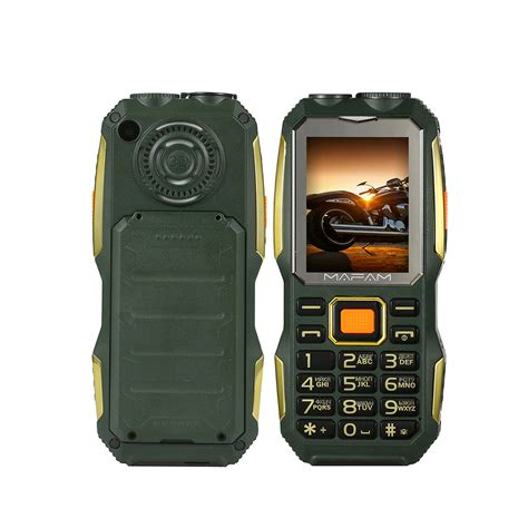 mobile m2 mafam m2 2 4 inch 4000mah uhf walkie talkie handheld sos