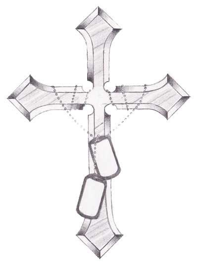 cross with roses tattoo google search daddy