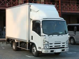 Isuzu Box Truck File Isuzu 6th Hi Cab White Box Truck Jpg