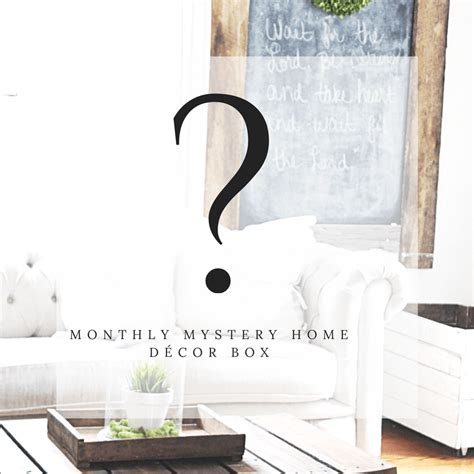 home decor subscription box gable lane crates monthly mystery home decor subscription