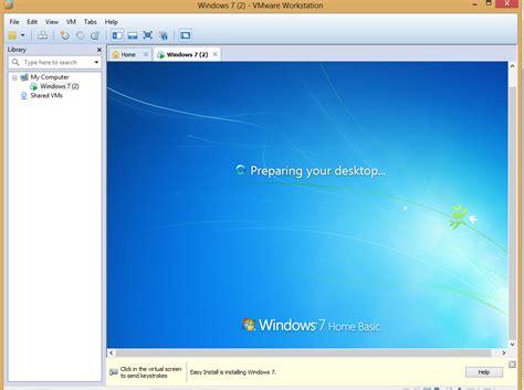 tutorial install windows 7 di vmware tutorial instalasi windows 7 8 di vmware workstation 10