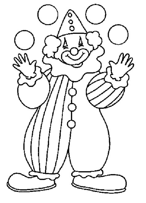 Coloring In Pictures Coloring Page Cirque Clown Coloring Me by Coloring In Pictures