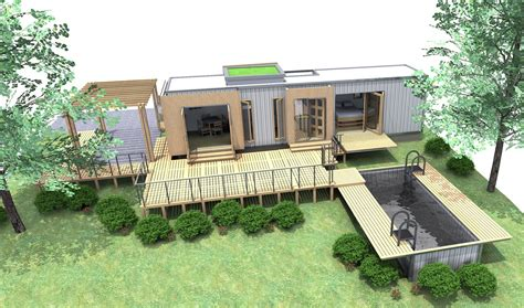 shipping container homes 40ft shipping container home eco pig designs sch 1 devon uk