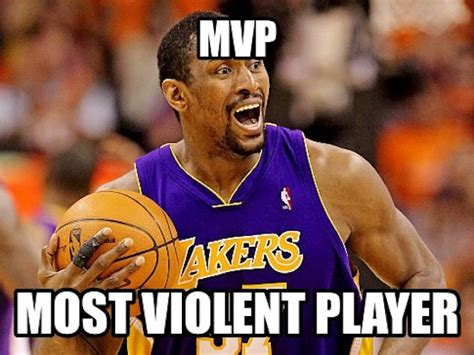 Ron Artest Meme - the basketball chat more meme from last season