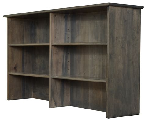 Amish Bookcase Headboard by Sleigh Space Saver Bookcase Pedestal Bed Amish
