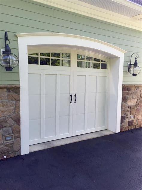 Clopay Coachman Collection White Carriage House Garage Coachman Garage Doors