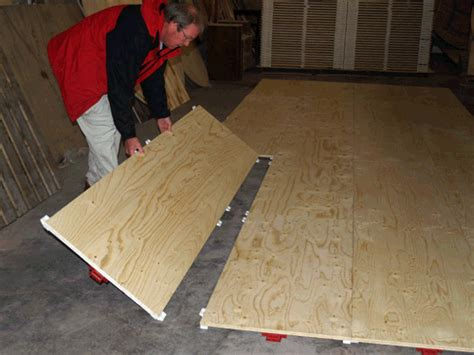 plywood dance floor temporary modular portable flooring