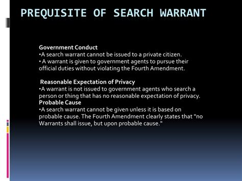 section 8 search warrant section 1 3 bill of rights
