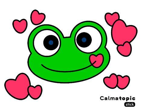 imagenes de amor para dibujar pintados dibujo de rana calmatopic amor pintado por anaguapa en