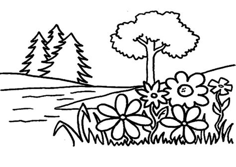 blank garden coloring page garden pictures to color coloring page purse hanger com