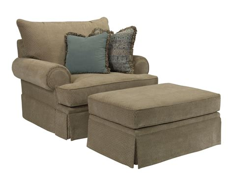 chair and a half and ottoman helena chair and a half and ottoman set by broyhill