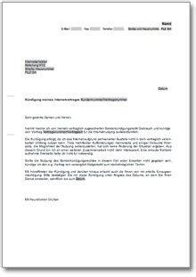 Musterbrief Für Gez Abmeldung K 252 Ndigung Des Internetanbieters Au 223 Erordentlich Wegen Internetausfall De Musterbrief