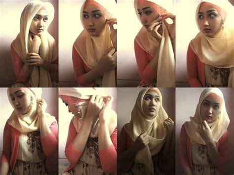 tutorial hijab pramugari ala dian pelangi tutorial hijab dian pelangi forget me not
