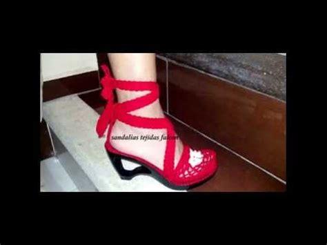zapatos crochet paso a paso youtube sandalias tejidas en crochet exclusivas youtube