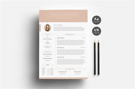 resume sample one page resume
