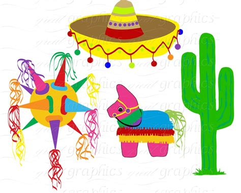 clipart festa mexican decorations clipart clipground
