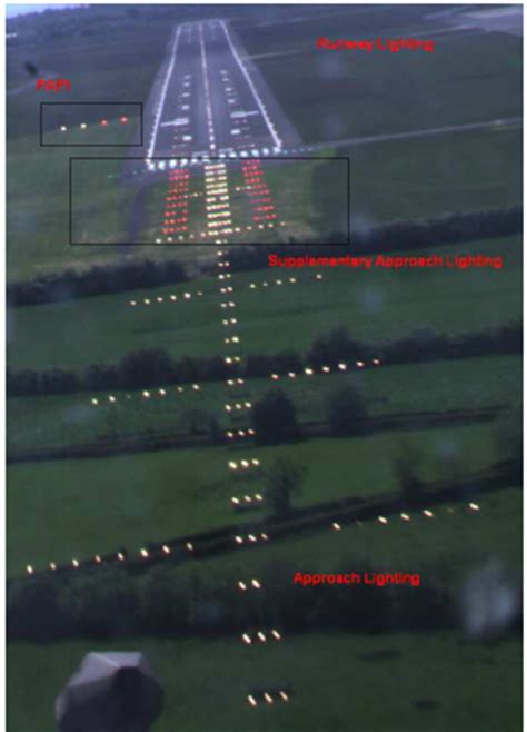 airport lighting diagram s belfast brightness evaluation and