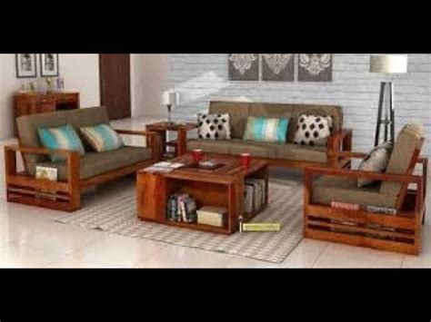 160 wooden sofa set designs for living room 2018 part 1