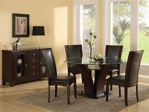 mesas de cristal  salon comedor