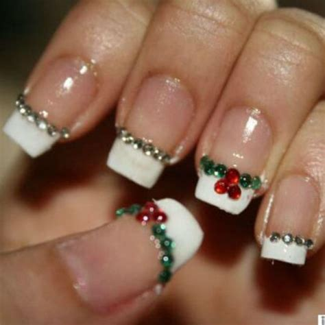 Deco Ongle Pour Noel by Deco Ongles Noel Facile
