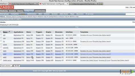 tutorial zabbix 3 zabbix network monitoring essentials tutorial displaying