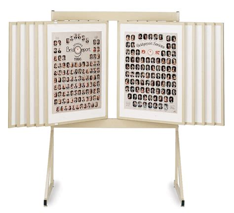 swinging panel display 50914 2430 multiplex swinging panel display blick art