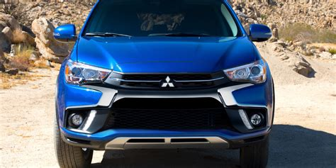 outlander mitsubishi 2018 2018 outlander sport view es se and sel models