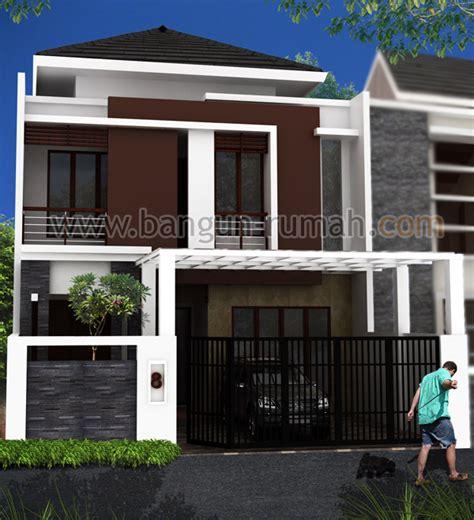 desain interior rumah lebar esain rumah 2 lantai di lahan 8 x 18 m2 desain rumah online