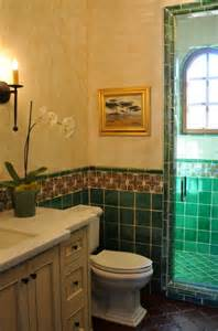 Spanish Interiors Homes Spanish Style Home Traditional Bathroom San
